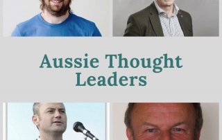 Who are our Australian thought leaders?